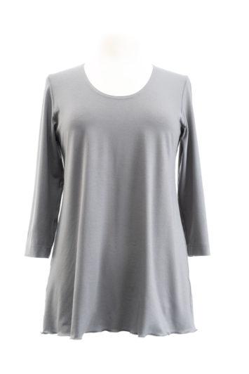 eigenart A-Shirt grau
