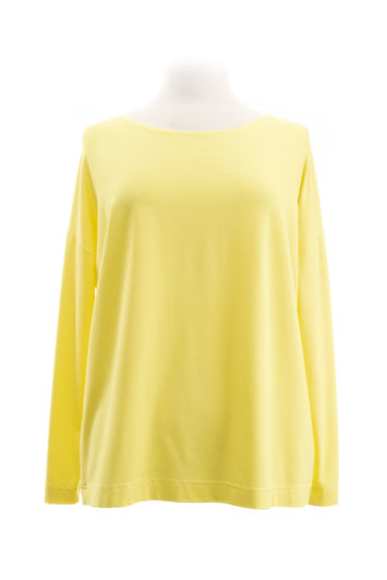 eigenart weites Shirt yellow