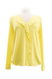 eigenart Jerseybluse yellow
