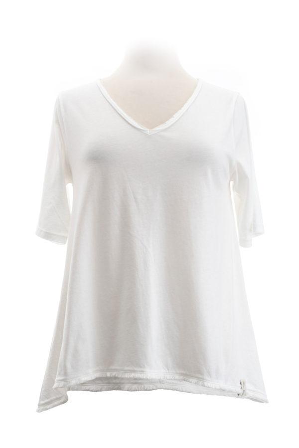 Henry Christ A-Shirt weiß
