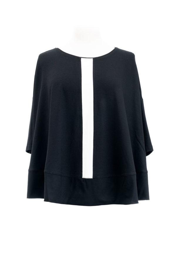 Hindahl & Skudelny Shirt nero/ecru