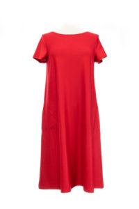 Swiss Label Kleid rot