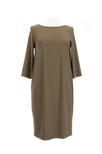 Swiss Label Kleid khaki