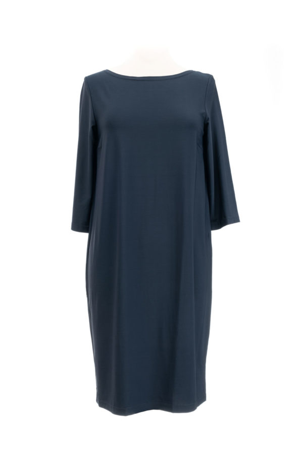 Swiss Label Kleid dunkelblau