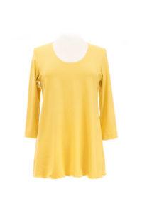 eigenart A-Shirt gelb