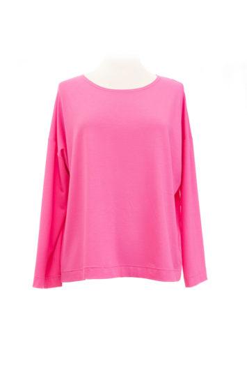 eigenart weites Shirt pink