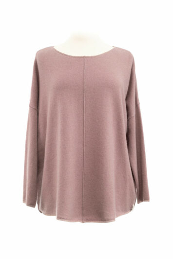 Henry Christ Pullover weit rose