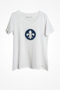Lilien-Shirt-weiss