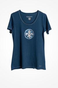 LilienShirt-blau-blau